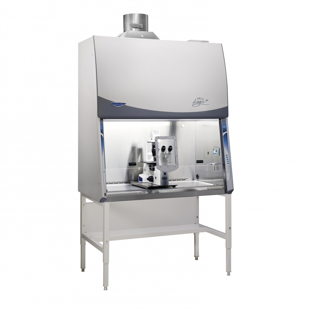 Cell Logic+ B2 Biosafety Cabinet on Stand