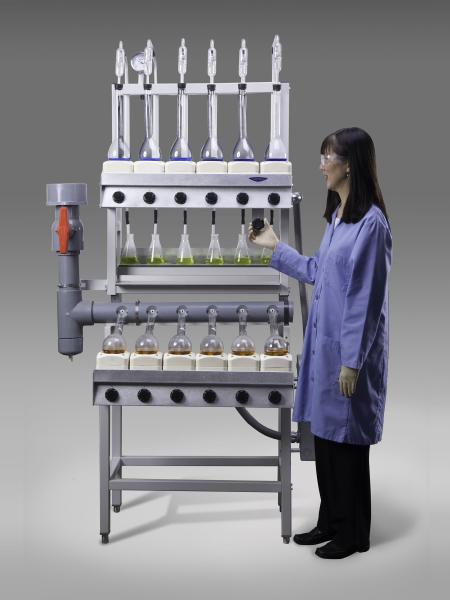 Open Combination Kjeldahl Distillation Digestion Unit
