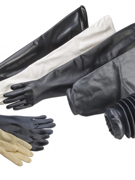 Glove Box Gloves, Sleeves and Hands
