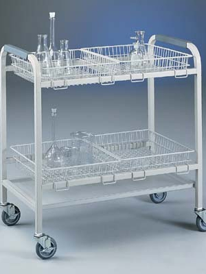 Small Basket for Glassware Cart