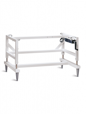 Manual Hydraulic Lift Base Stand with Right Side Handle